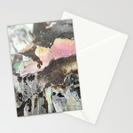 Detail of an iridescent seashell Stationery Cards