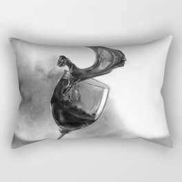 Dine with fine wine Rectangular Pillow