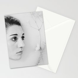 Floral Milk Bath 2 Stationery Cards