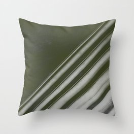Forest Lines Throw Pillow