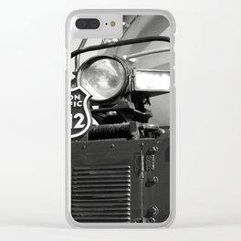 Union Pacific Big Boy Detail Clear iPhone Case