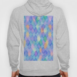 Abstract geometric pattern with rhombus Hoody