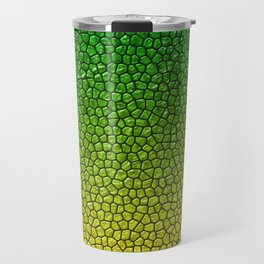 Green/Yellow Reptile Skin Travel Mug