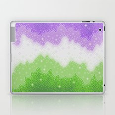 Genderqueer Pride Galaxy Laptop & iPad Skin