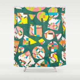 Schema 20 Shower Curtain