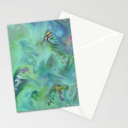 Wall Art- Abstract- Kitchen Art- AirBnB- Modern Art- Green- Interior Design Stationery Cards