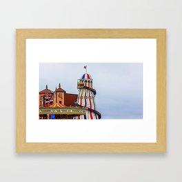 Helter skelter. Framed Art Print