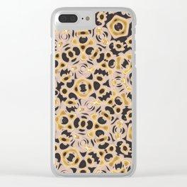 Holy Mandala Clear iPhone Case