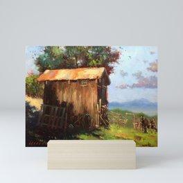 A Stable Home Mini Art Print