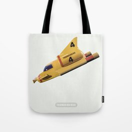 Thunderbirds TV Series Tote Bag