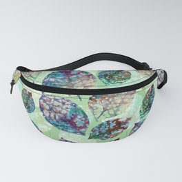 Colorful leaves III Fanny Pack