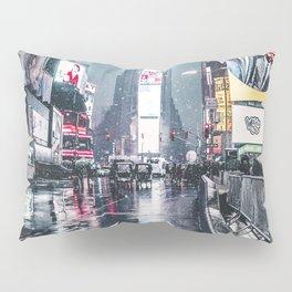 Neon Snowstorm Pillow Sham