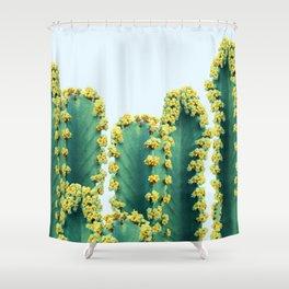 Adorned Cactus #society6 #artprints #buyart Shower Curtain