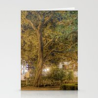 allyson johnson Stationery Cards featuring Johnson Square by -SM-