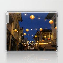 Chinatown Lanterns in L.A. Laptop & iPad Skin