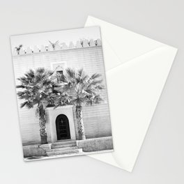 "Travel photography print ""Magical Marrakech"" photo art made in Morocco. Black and white. Stationery Cards"