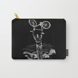 Bike Contemplation Carry-All Pouch