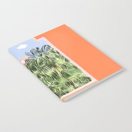 Summer Travel #illustration #tropical Notebook