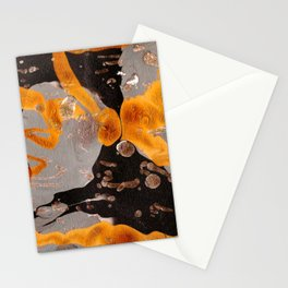 Golden Mess Stationery Cards