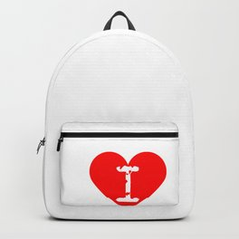 I Heart ARES   Love ARES Backpack