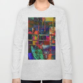 Canvas Abstract Deux Long Sleeve T-shirt