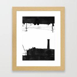 Railway III Framed Art Print