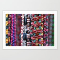 Seed Collars  Art Print