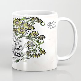 Flowers Figure Coffee Mug