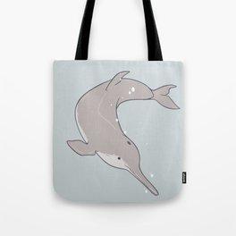 Baiji Dolphin Tote Bag