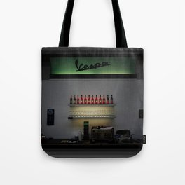 Vespa Bar Tote Bag