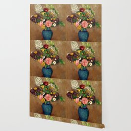 "Odilon Redon ""Vase de fleurs"" Wallpaper"