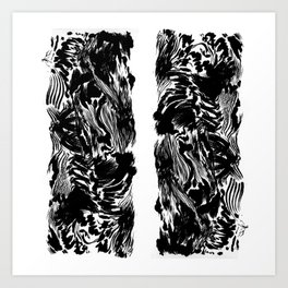 Forest Inks Art Print