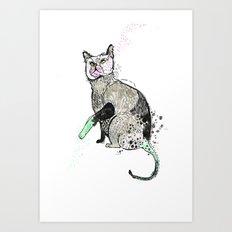 Hi Steve Art Print