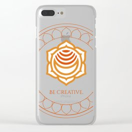 Be Creative Clear iPhone Case