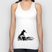 wizard Tank Tops featuring Wizard by Flying Cat Artwork