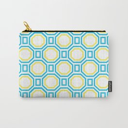 Blue Harmony in Symmetry Carry-All Pouch