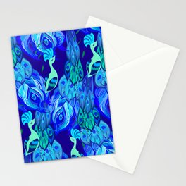 Peacock Neck Gator Proud Peacocks Peacock Feathers Stationery Cards