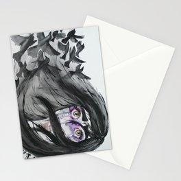 Dark Wings, Dark Words Stationery Cards