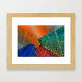 citylines -3- Framed Art Print