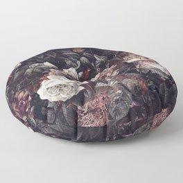 EXOTIC GARDEN - NIGHT III Floor Pillow