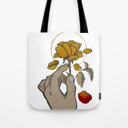 If You Need Anyone (w/ red petal) Tote Bag