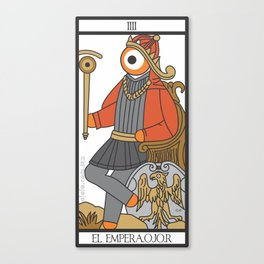 el empera.ojo.r Canvas Print