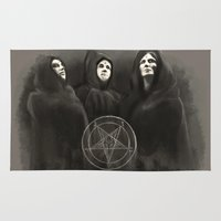 witchcraft Area & Throw Rugs featuring Witchcraft by Corpse inc