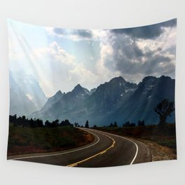 Grand Tetons Wall Tapestry