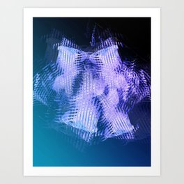 Midnight Motion Art Print