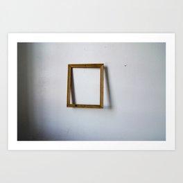 Empty Frame Art Print