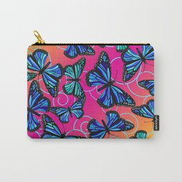 Cool Monarchs at Sunset Carry-All Pouch