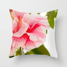 Winter Brights Throw Pillow