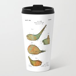 Golf Club Heads Patent - 1926 Travel Mug
