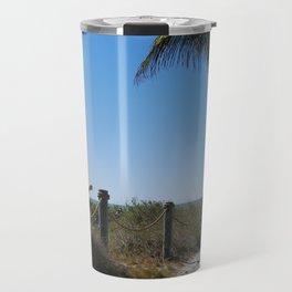 Captiva Island Beach Access Travel Mug